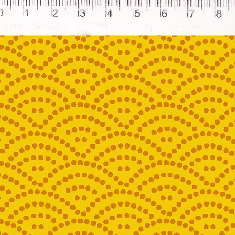 Fernando Maluhy - Coleção Filtro Dos Sonhos - Onda Amarelo  - 50cm X150cm