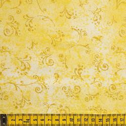 Fernando Maluhy - Arabesco Texturado Amarelo - 50cm X150cm