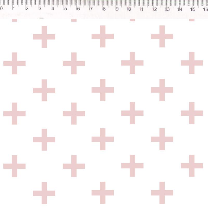 Fernando Maluhy - Coleção Monochrome - Cross Rose  - 50cm X150cm