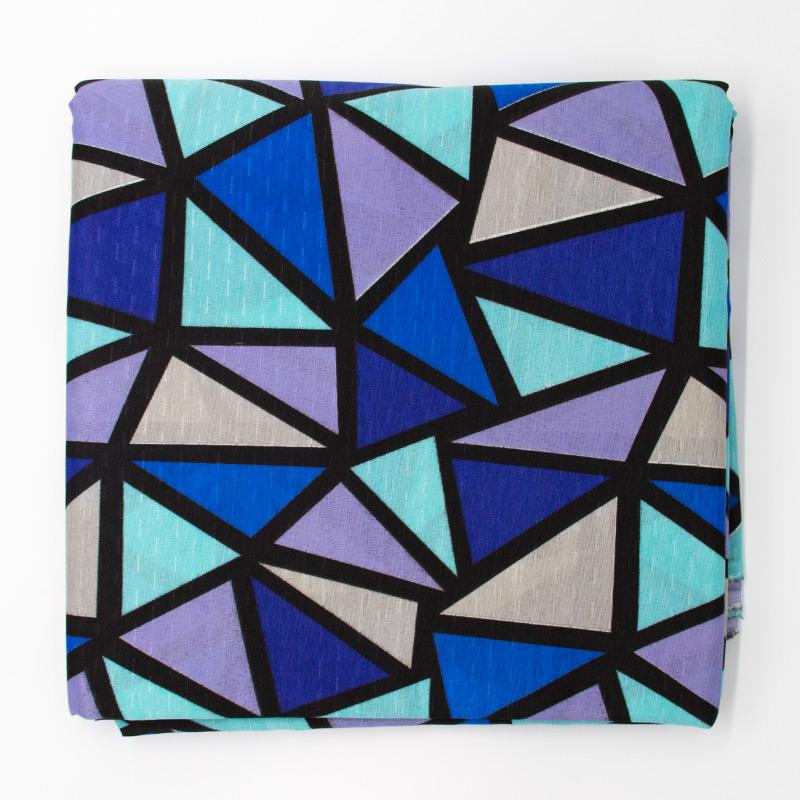 Tecido Gorgurinho - Vitral Colorido - 50cm x 150cm