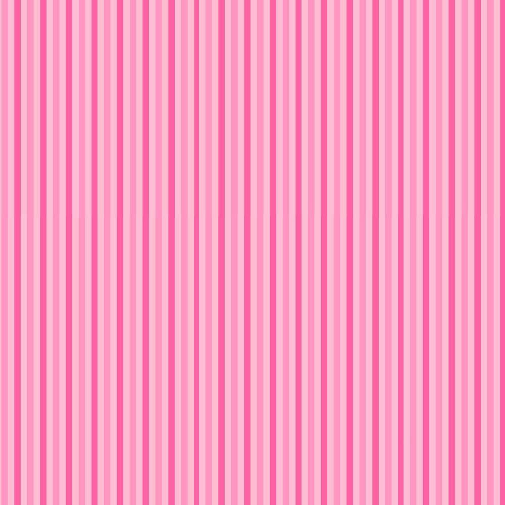 Fabricart Coleção Menininhas - Listrado Rosa - 50cm X150cm