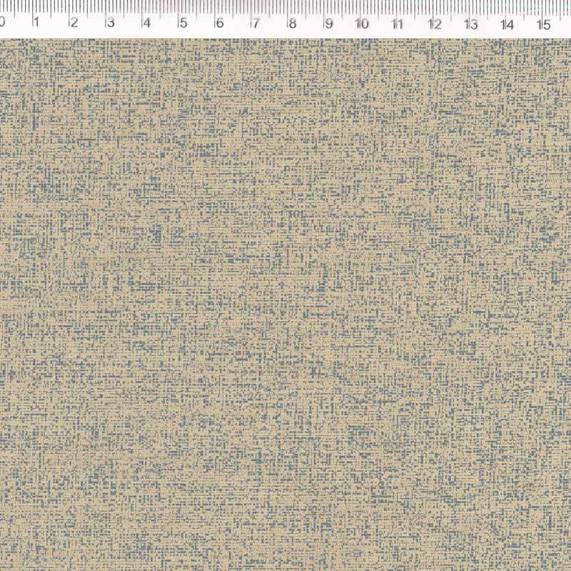 Fernando Maluhy - Coleção Rose Garden -  Linho Estampado - Textura Cinza - Manu- 50cm X150cm