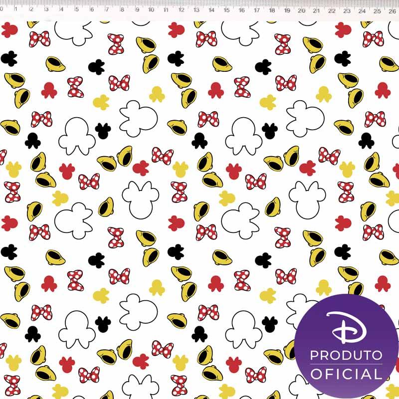 Fernando Maluhy - Coleção Disney - Guarda Roupa Minnie Amarelo -  50cm X 150cm