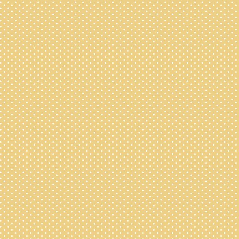 Fabricart Coleção Basics & Colors - Poás - Micro Poá Amarelo Queimado - 50cm X150cm