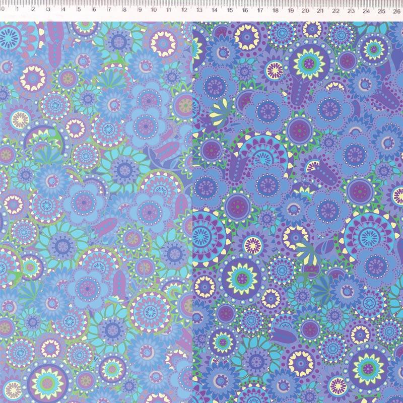 Fernando Maluhy - Coleção Marina Landi - Azul Barrado - 50cm X150cm
