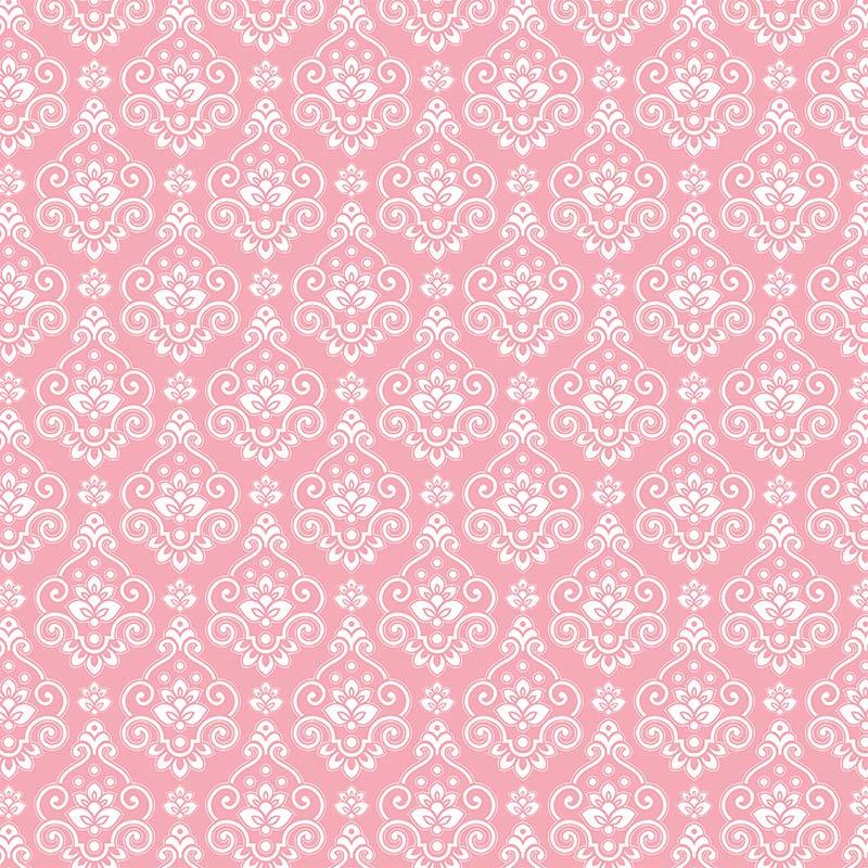 Fabricart Coleção Natural Beauty - Medalhão Rosa - 50cm X150cm
