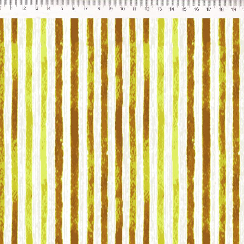 Fernando Maluhy - Coleção Floratta - Listrado Amarelo - 50cm X150cm