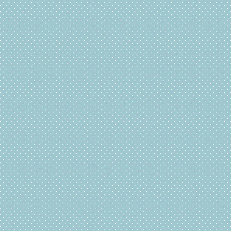Fabricart Coleção Basics & Colors - Poás - Micro Poá Azul Bebê - 50cm X150cm