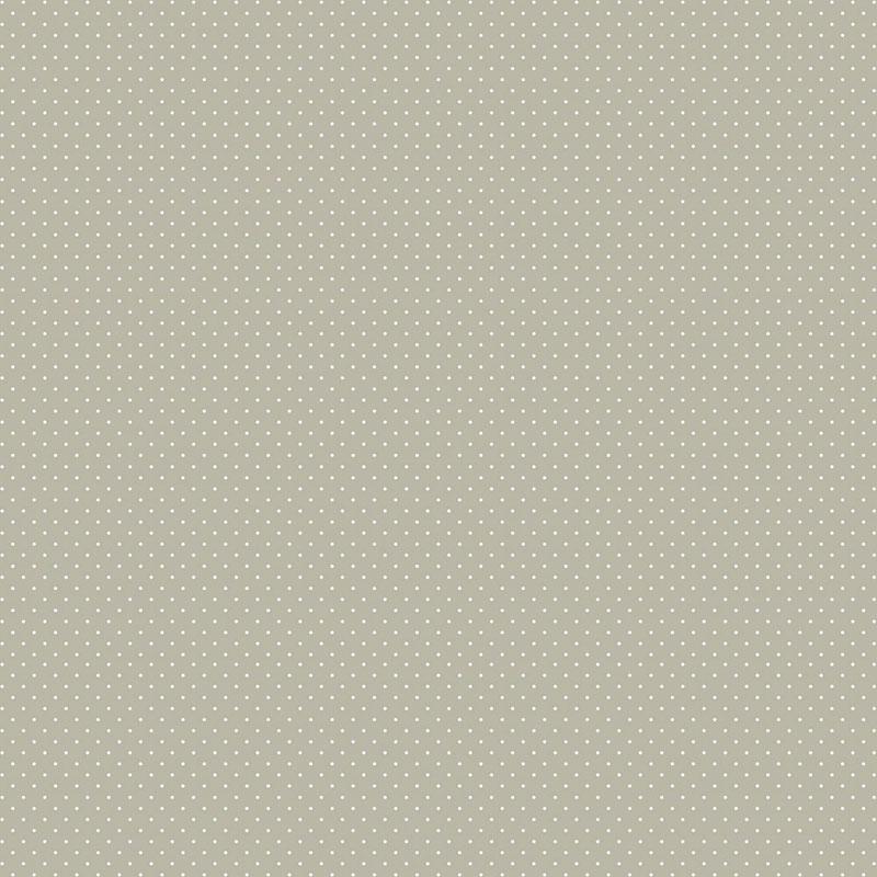 Fabricart Coleção Basics & Colors - Poás - Micro Poá Cinza - 50cm X150cm
