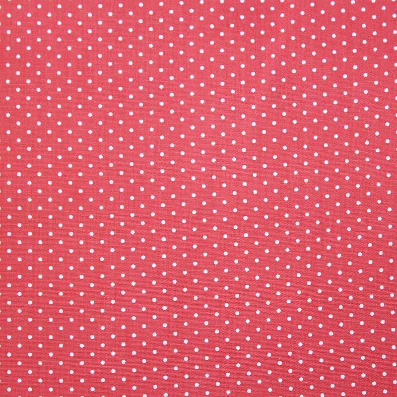Fabricart Coleção Basics & Colors - Poás - Poá Médio Rosa Primavera - 50cm X150cm