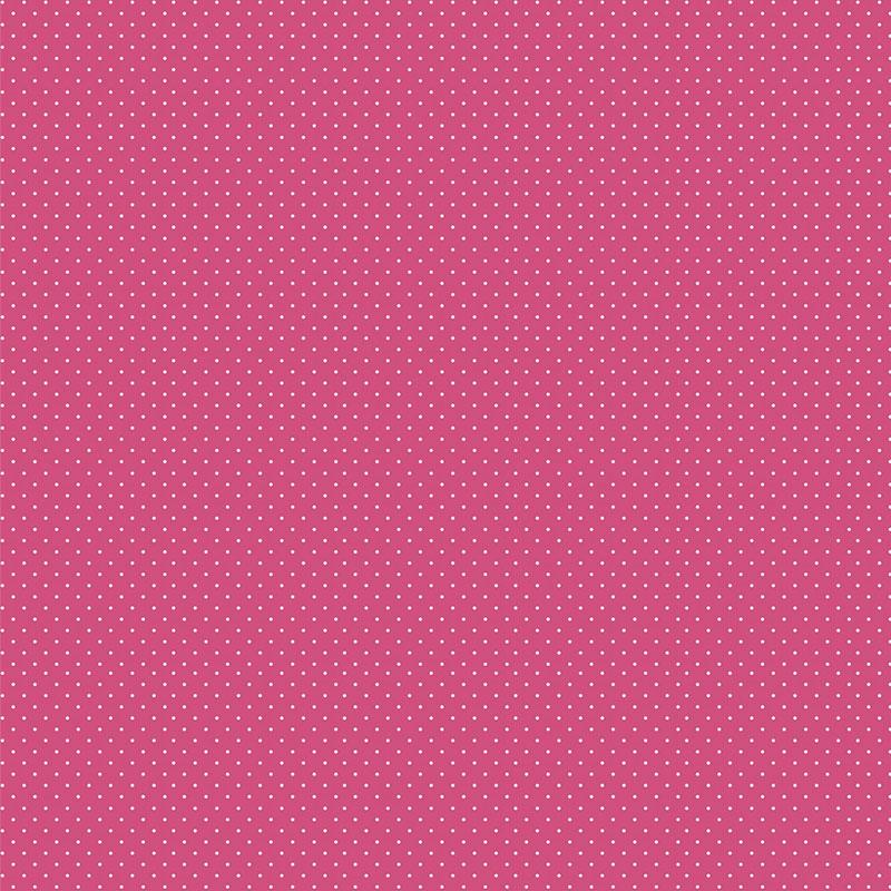 Fabricart Coleção Basics & Colors - Poás - Micro Poá Pink - 50cm X150cm