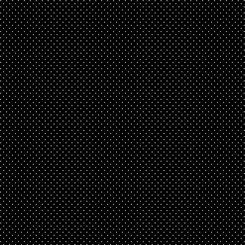 Fabricart Coleção Basics & Colors - Poás - Micro Poá Azul Preto - 50cm X150cm