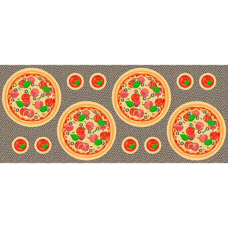Fabricart Coleção Pillows - Sousplat Pizza - 60cm X150cm