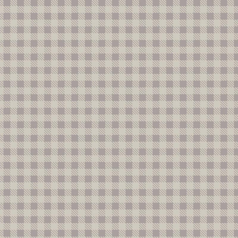 Fabricart Coleção Basic Colors Xadrez - Estampa Basics Xadrez Cinza - 50cm x 150cm