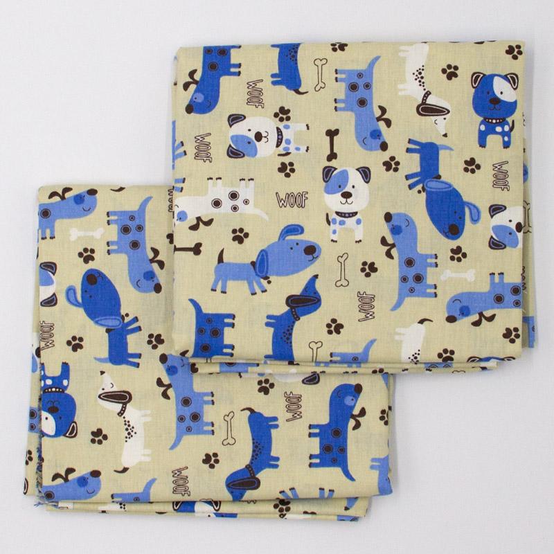 Caldeira Coleção Pets - Doguinhos Bege - 50cm x 150cm