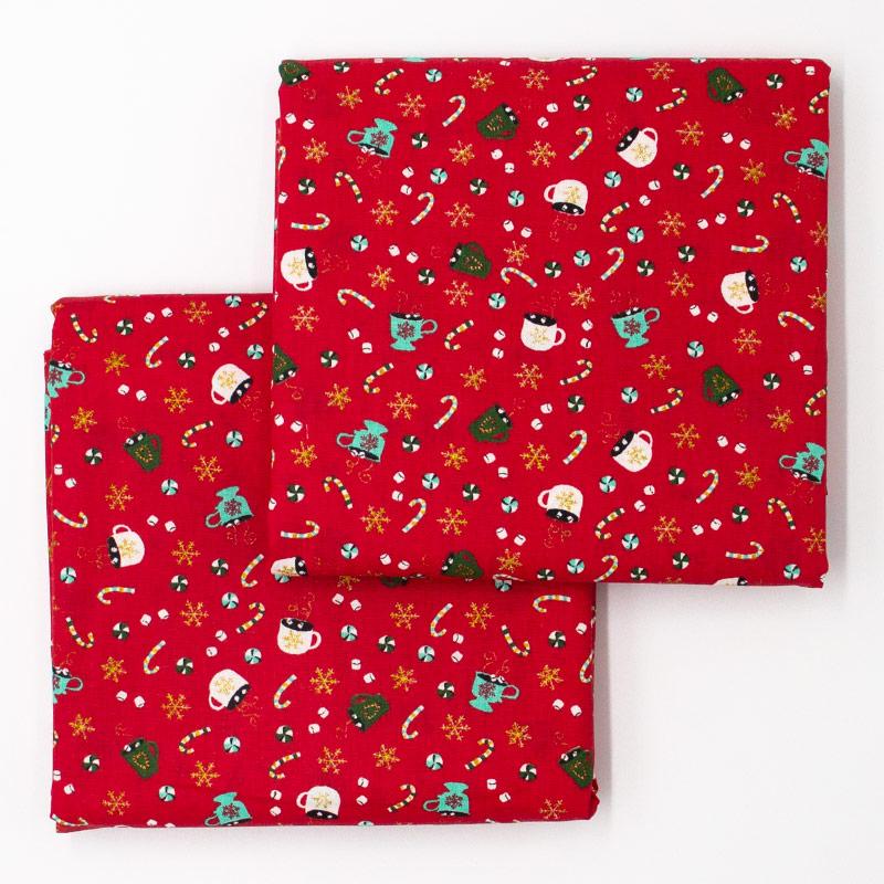 Caldeira - Coleção Natal - Doces de Natal - 50cm X150cm