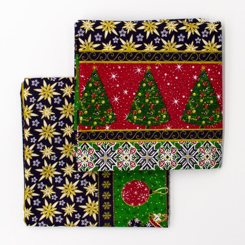 Catarinense - Coleção Natal - Elementos Natalinos  - 50cm X150cm