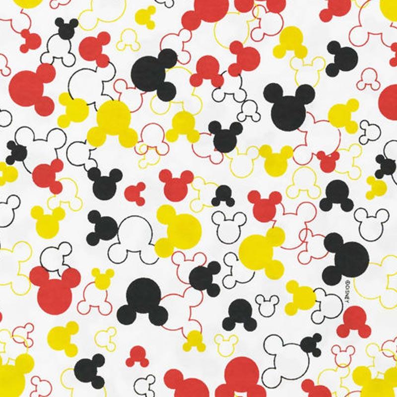 Fernando Maluhy - Coleção Disney - Mickey Mouse Silhueta - 50cm X150cm
