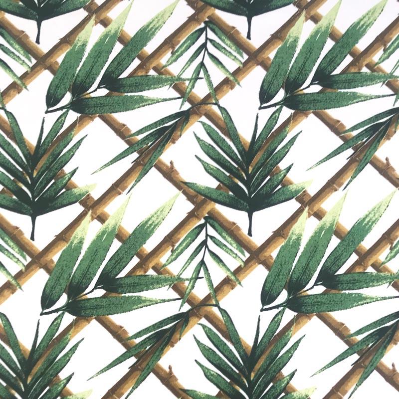 Tecido Gorgurão - Folhas - 50cm x 140cm