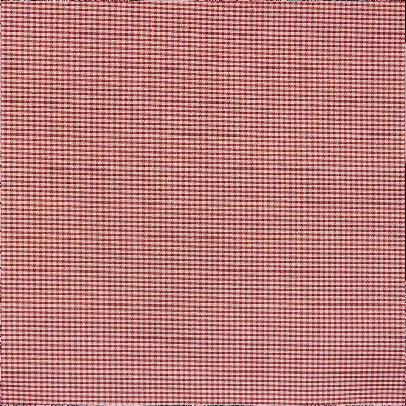 Tecido Gorgurão - Micro Quadriculado Vermelho - 50cm x 140cm