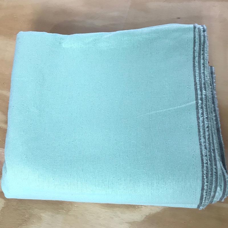 1000 Tons - Linho Misto Liso - Tiffany - 50cm X136cm