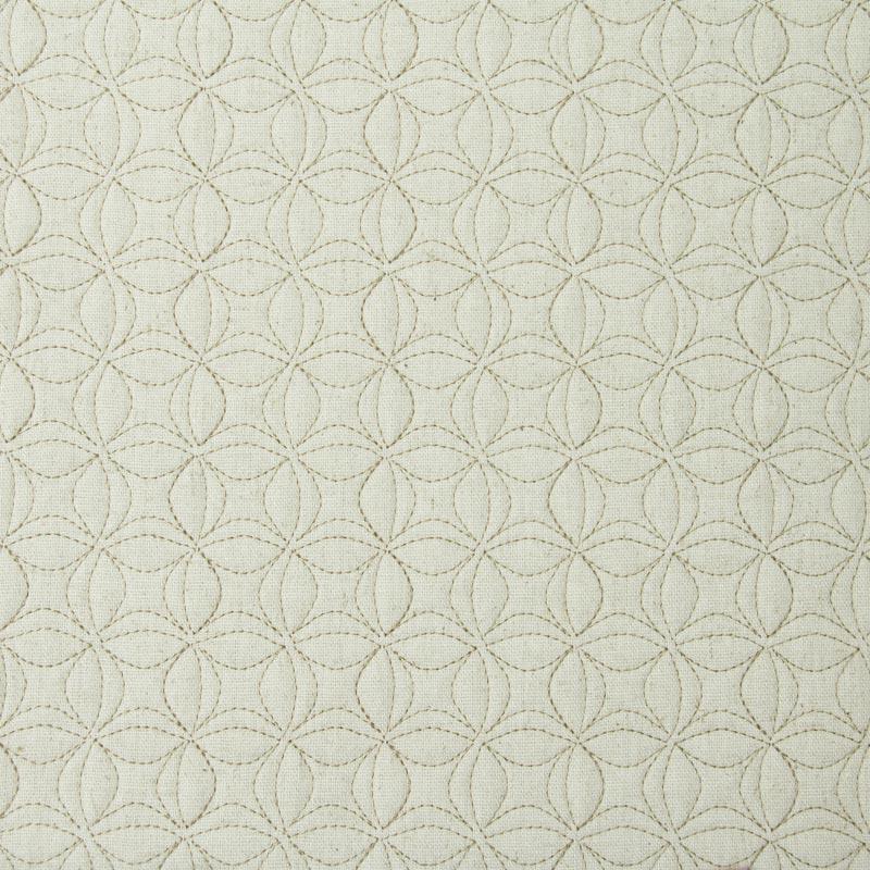 Tecido Matelassado Linho Flor de Lótus Pequena - 50cm X 150cm