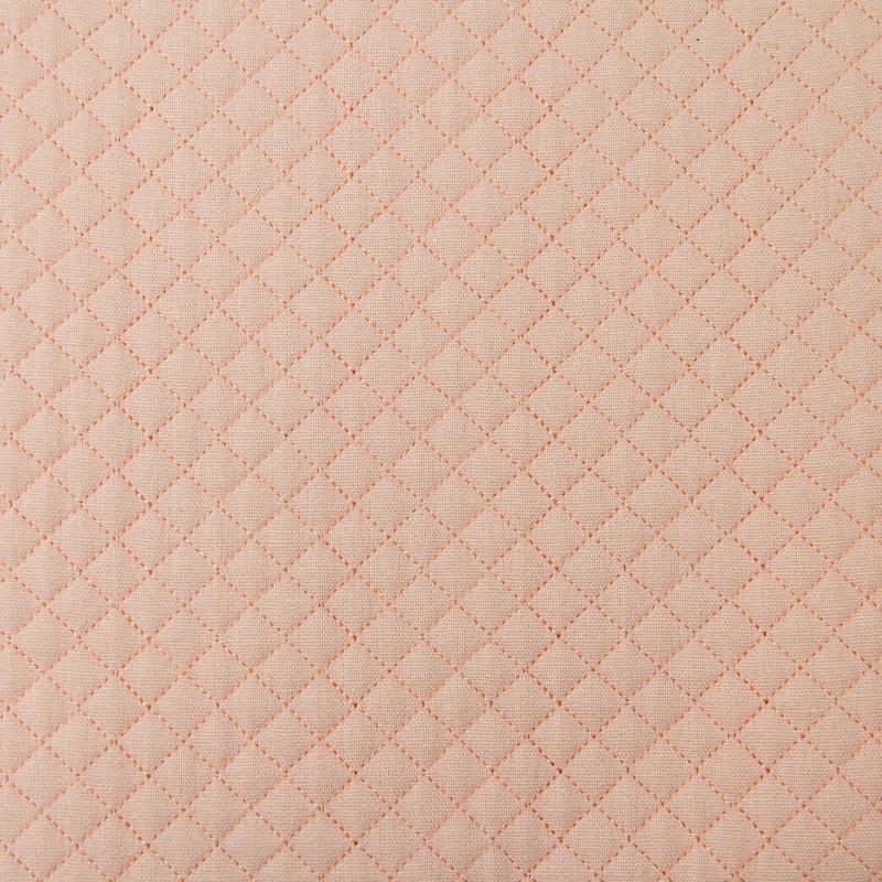 Tecido Matelassado Linho Rosa Reto - 50cm X 150cm