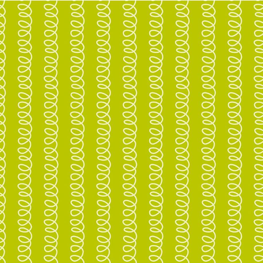 Fabricart Coleção Selva Colorida - Molinha  Abacate - 50cm X150cm