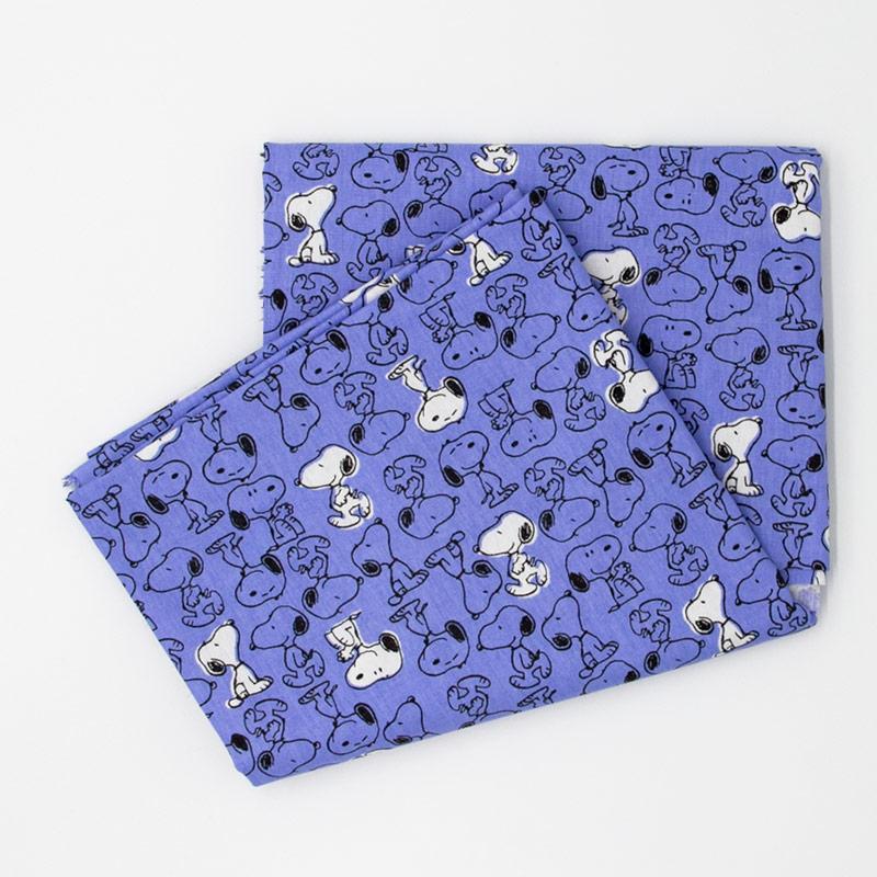 Fernando Maluhy - Coleção Snoopy  - Snoopy Color Azul - 50cm X150cm
