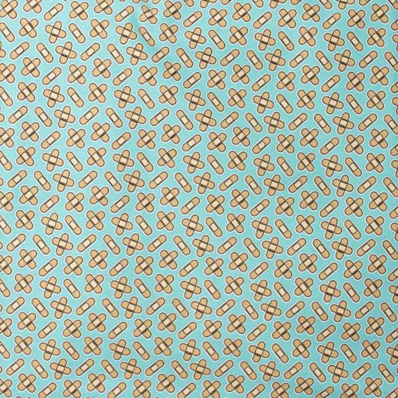 Igaratinga - Coleção Medicina - Curativo Fundo Tiffany - 50cm X150cm
