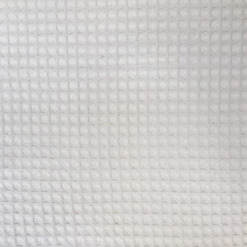 Tecido Piquet Diamante Fofo Crú 100% Algodão - 50cm x 300cm