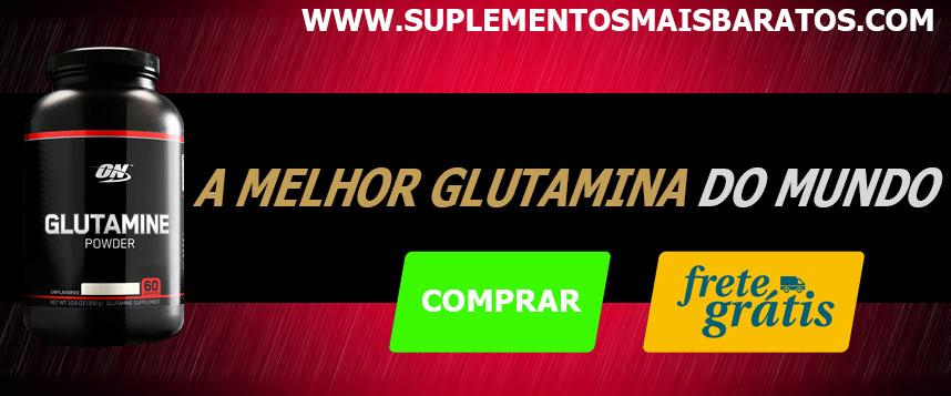 comprar glutamina optimum nutrition e max titanium com o melhor preço