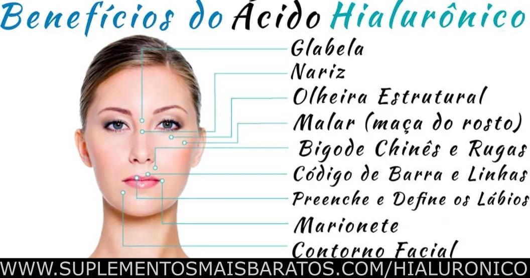 Beneficios do Ácido Hialurônico e como tomar