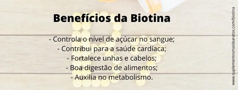 Beneficios da Biotina e como tomar