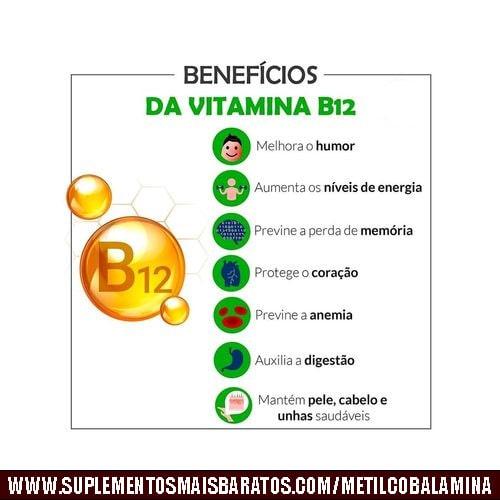 o que é metilcobalamina vitamina b12 e como tomar
