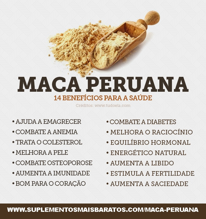 beneficios da maca peruana e para que serve