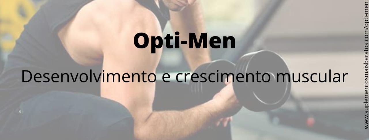 O que é Opti-Men e para que serve