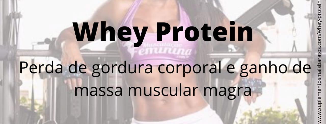 O que é Whey Protein gold standard e para que serve