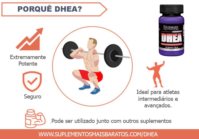 Por que DHEA 50MG - ULTIMATE NUTRITION