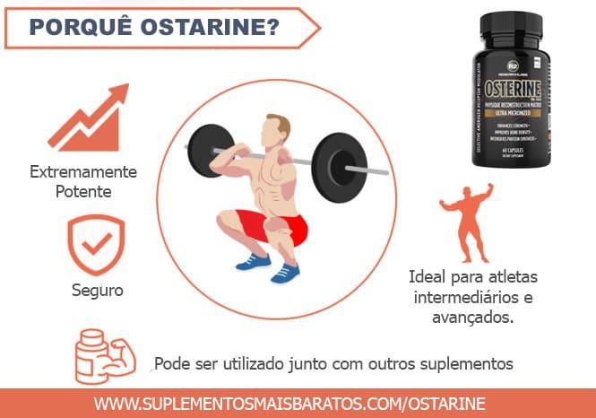 Por que Ostarine e motivos para usar
