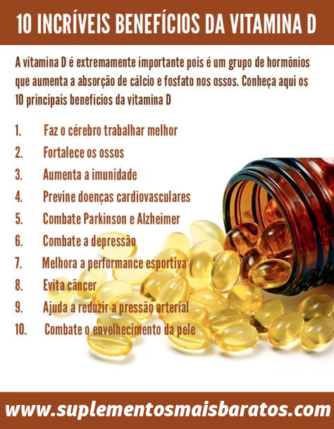 beneficios da vitamina d3