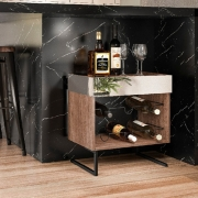 Adega Aurora Para 6 Garrafas Dream Home Design