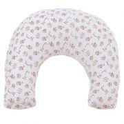 Almofada de Amamentação Arca de Noé Hug Baby Cor Branco
