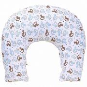Almofada de Amamentação Baby Blue Hug Baby Cor Branco