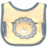 Babador com fraldinha de boca Nature Leão - Classic for Baby