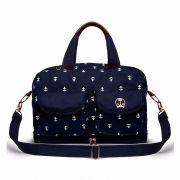 Bolsa Ibiza Navy Azul Marinho Classic for Baby Bags Cor Azul