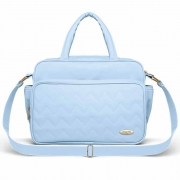 Bolsa Maternidade Classic For Baby Missoni Turim Cor Azul