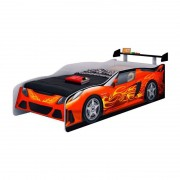 Cama Infantil Sport Car Móveis Estrela Cor Vermelho
