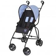 Carrinho de Bebê Capri Galzerano Cor Preto e Azul