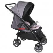 Carrinho de Bebê Maranello II Galzerano Cor Rosa e Preto